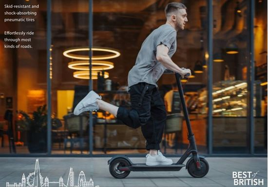 RUSH LITE FOLDABLE ELECTRIC SCOOTER