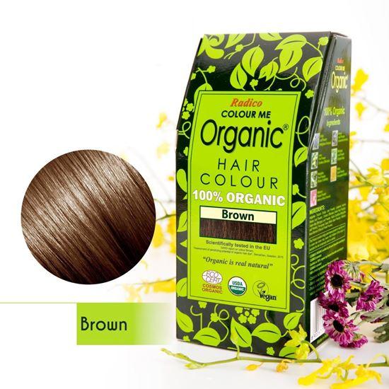 Brown Organic Hair Colour