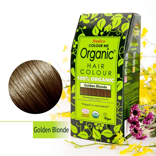 Golden Blonde Organic Hair Colour