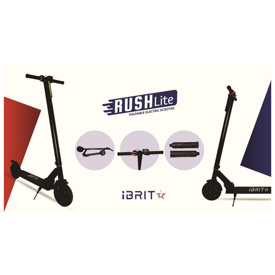صورة I BRIT STAR RUSH LITE FOLDABLE ELECTRIC SCOOTER
