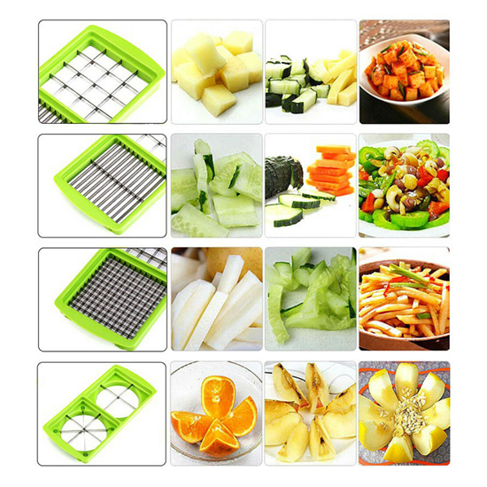 Nicer Dicer Vegetable and Fruit Cutting Tool Set