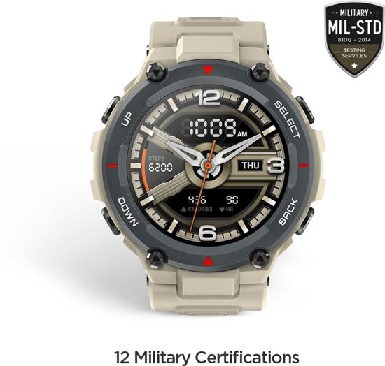 Amazfit T-REX Smartwatch -Khaki