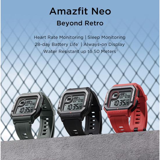Amazfit Neo -black