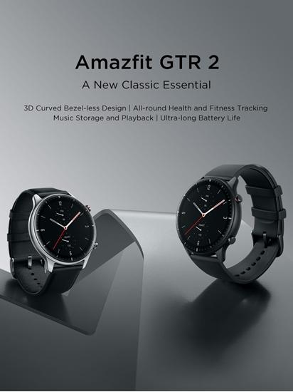 Amazfit GTR 2 – Obsidian Black / Classic Edition