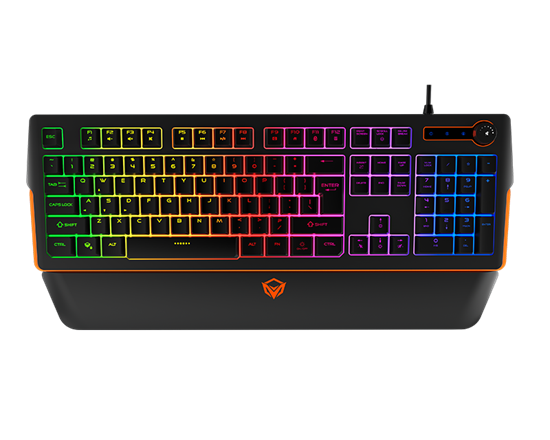 RGB Magnetic Wrist Rest Keyboard for Gaming K9520